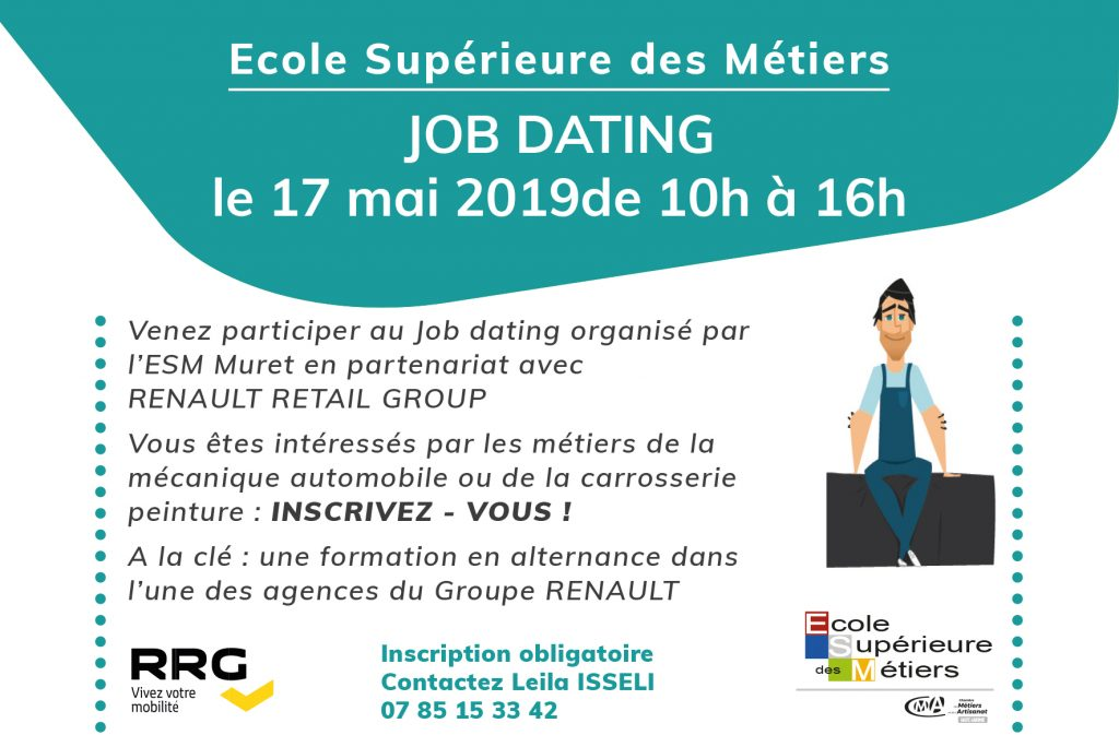 FLYER JOB DATING RENAULT RETAIL Horizontal